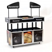 Hennessy DJ Table Retail POP Display