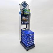Blue Buffalo Vertical Merchandiser stocked