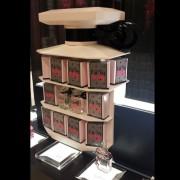 victorias secret bottle table eau so sexy POP display