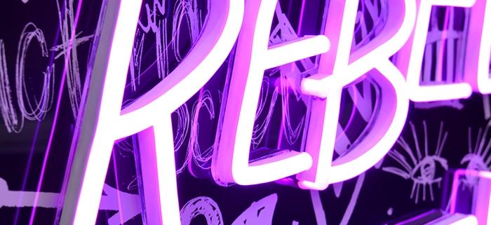 Neon Victorias Secret