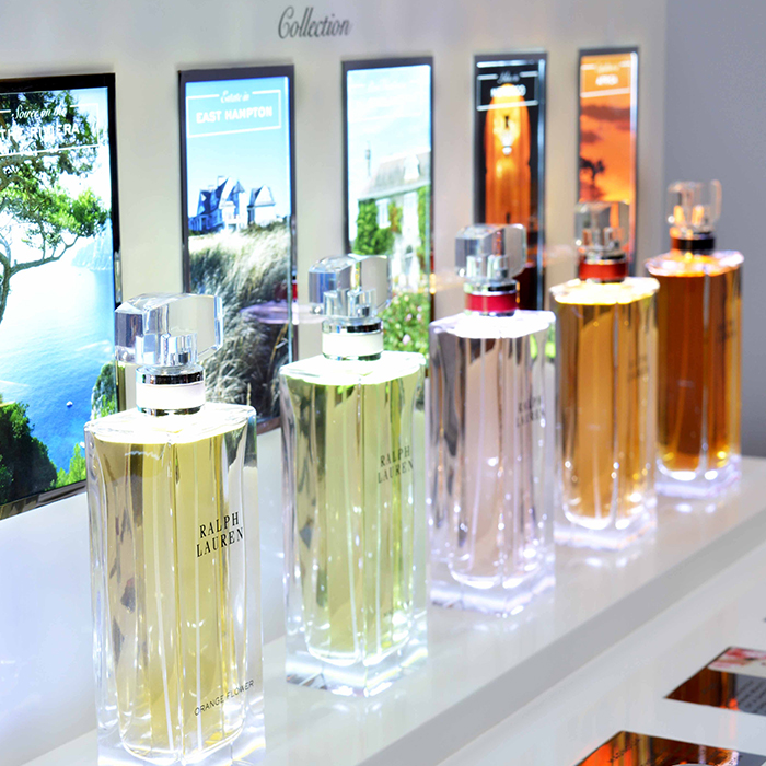 Ralph Lauren Perfume Display